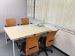 【茅場町自習室】116号室 1~4人用 平日オールタイム1時間600円の自習室・ミーティングスペース 少人数のお打合せにも!