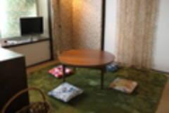 【神楽坂】かわいい猫インテリアのレトロ戸建/和室/こたつ/CATV