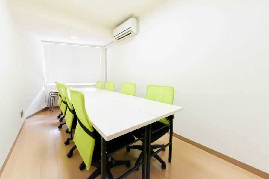 【新宿駅直結出口30秒】 高級チェア 清潔で静かな会議室