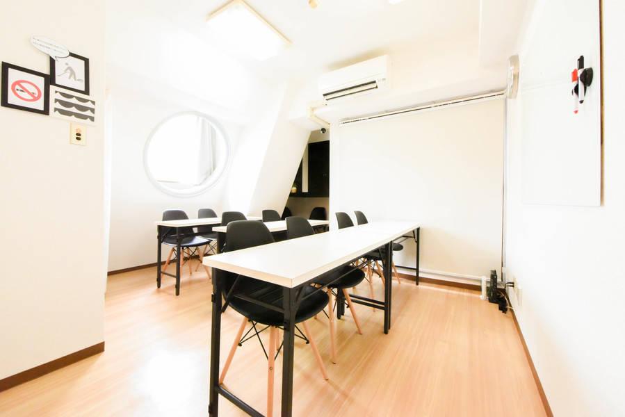 【三田・田町駅直近】明るく眺めの良い清潔な個室・WiFi無料