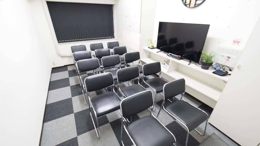 【A】新宿駅近 完全個室 ワンコイン 貸し会議室