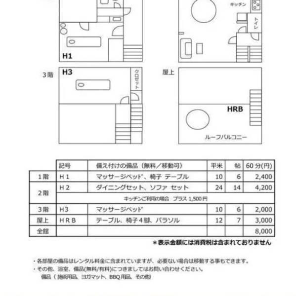 【 広尾徒歩1分 一軒家 3F 】 サロン、ワークショップ等などの万能スペース!